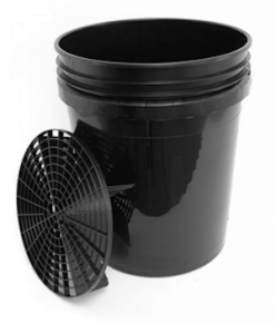 Grit Guard Bucket Nero