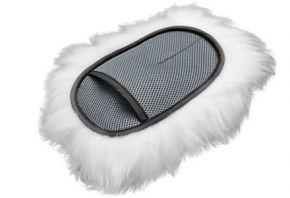 Lambskin Soft Wool wash mitt