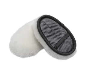 Lambskin Soft Wool finger wash mitt